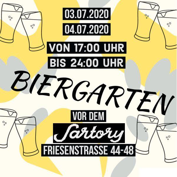 Biergarten Flyer